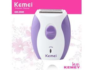 KM-280R Callus Remover Electric Rechargeable Epilator Hair Removal Lady Shaver