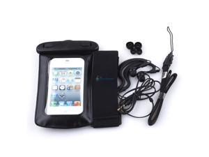 WATERPROOF CASE COVER BAG+HEADPHONE+ARMBAND FOR IPOD TOUCH IPHONE 3G 3GS 4 4G 4S
