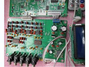 7 1 Channel Decoder Board DTS Ac3 Decoder Board Dual Power Version