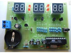 AT89C2051 6 Digit LED Electronic Clock Parts Digital Clock Kit DIY