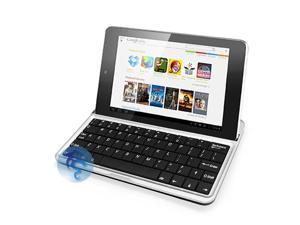 Aluminum / Leather Keyboard Dock Case for Google ASUS Nexus 7 Tablet PC