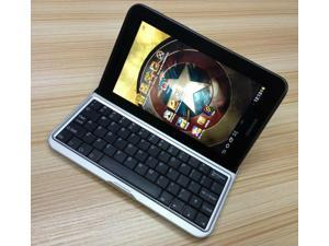 For Samsung Galaxy Tab 2 7.0 P3100 P3110 P3113 Bluetooth ABS Keyboard Case Cover Black