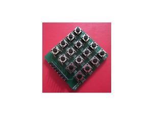 Inline 4X4 matrix keyboard 16 keys keys keyboard microcontroller external expans