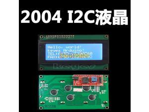 Special promotions !!!! 5pcs/lot LCD module Blue screen IIC/I2C 2004 5V LCD LCD