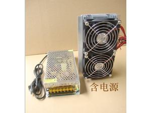 Semiconductor refrigeration slice small air-conditioned suites dual core cooling air cooling device cooling equipment