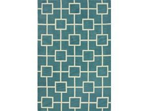 "Dalyn Infinity IF4PC Peacock  3'6"" x 5'6"" Area Rugs"