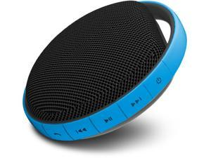 MiiKey Wireless MiiShower water proof Wireless Bluetooth Speaker with Microphone & built in Music player - Blue