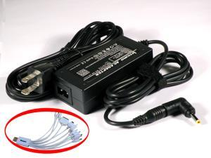 iTEKIRO AC Adapter for HP Mini 110-1121BR 110-1121TU 110-1122BR 110-1124TU 110-1125LA 110-1125NR 110-1126LA 110-1126NR 110-1127LA 110-1127NR 110-1128TU 110-1129NR 110-1130LA 110-1130SA 110-1131DX