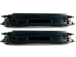 2-Pack Compatible Brother TN115, TN115BK, TN-115BK, TN110, TN110BK Black Toner Cartridge for Brother DCP-9040CN, DCP-9045CDN, HL-4040CDN, HL-4040CN, HL-4070CDW, MFC-9440CN, MFC-9450CDN, MFC-9840CDW