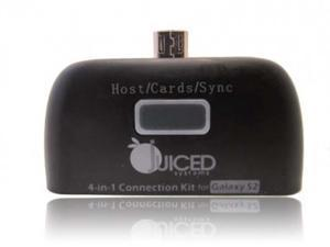 Juiced Systems Micro USB 4 in 1 Card Reader Adapter