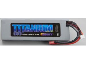 Titanium Racing 4500mAh LiPo, 7.4v, 2s 50c :Deans TRIC2105 TRINITY