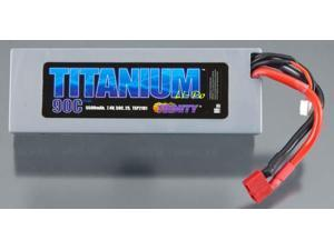 Titanium Racing 5500mAh LiPo, 7.4v, 2s 50c :Deans TRIC2106 TRINITY