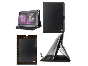 "Black Leather Universal Tablet Carrying Case for 10"" tablet Samsung Galaxy Tab Samsung Galaxy Note / Acer Aconia / Asus MeMO / Lenovo / Sony Xperia / Asus Nexus / Asus Transformer and other 10"" Tablet"