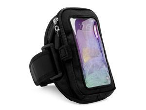 Workout Fitness Armband (fits Medium to Large Arms) /w Zipper fits Samsung Galaxy S6 / S6 Edge
