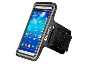 Slim Lightweight Easy Fitting [Gym Bike Cycle Jogging Walking] Armband fits Samsung Galaxy S6 / S6 Edge / S6 Active