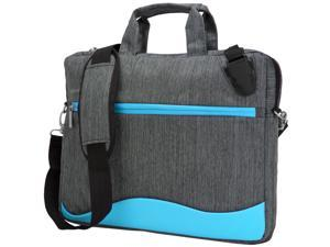 VANGODDY Wave Series Padded Nylon Travel Carrying Shoulder Bag (with Adjustable Strap) fits MSI GT Series 15.6 inch