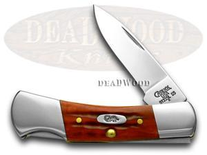 CASE XX Pocket Worn Red Lockback Pocket Knife Knives