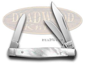 CASE XX Genuine Mother Of Pearl Small Stockman Pocket Knife Knives