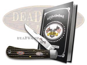 CASE XX Civil War Book Set Volume 3 Battle of Shiloh New Black Backpocket Knives