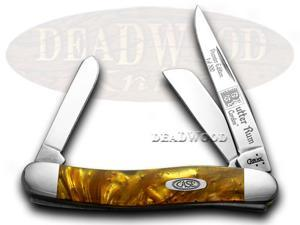 CASE XX Butter Rum Genuine Corelon 1/500 Stockman Knife