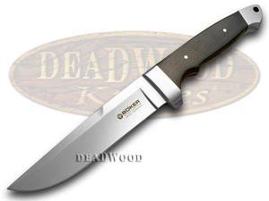 BOKER TREE BRAND Grenadill Wood Vollintegral Fixed Blade Knife Knives