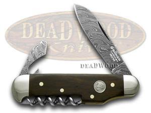 BOKER TREE BRAND 2014 Annual Damascus Collector's Camp Knife Pocket Knives