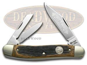 BOKER TREE BRAND Beer Barrel Wood Whittler Pocket Knife Knives