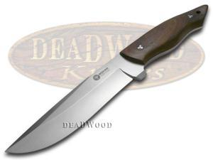 BOKER ARBOLITO Guayacan Ebony Wood Venador Fixed Blade Stainless Knife Knives