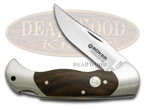 BOKER TREE BRAND Cronidur Grenadill Wood Lockback Pocket Knife Knives