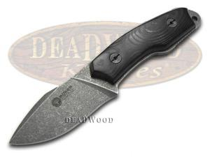 BOKER ARBOLITO Black Micarta El Heroe Fixed Blade Stainless Knife Knives