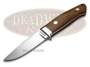BOKER TREE BRAND Brown Micarta Bob Dozier Fixed Blade Knife Knives