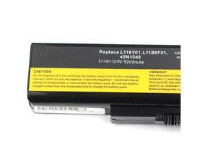 Replacement Laptop Battery for IBM LENOVO L116Y01,L11S6F01,ASM 45N1048,FRU 45N1049,121500049,L11S6Y01,L11O6Y01,L11L6F01,L11P6R01