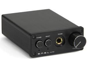 SMSL SD-793II PCM1793 DIR9001 DAC Digital Audio Decoder + Headphone Amplifier Black