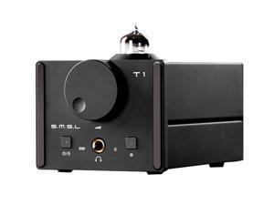 SMSL T1 DAC DSD512 Tube Headphone Amplifier 384kHz Optical\Coaxial\USB\Decoder