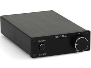 SMSL SA-98E 160WPC TDA7498E Class T Digital Amplifier + Power Adapter Black