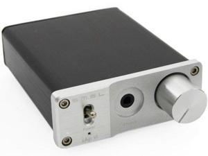 SMSL sApVI HiFi Stereo Headphone Amplifier + Power Adapter Silver