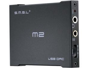 SMSL M2 Headphone Amplifier External DAC Decoder Sound Card Black