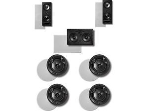 Polk Audio 900-LS 7.0 In-Ceiling / In-Wall Speaker System Package(bundle of 7 speakers)