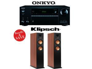 Onkyo TX-NR656 7.2 Channel Network A/V Receiver + (1) Pair of Klipsch RP-250F Reference Premiere Floorstanding Loudspeakers (Cherry) - Bundle