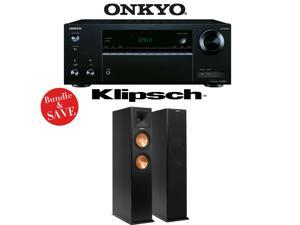 Onkyo TX-NR555 7.2-Channel Network A/V Receiver + (1) Pair of Klipsch RP-260F Reference Premiere Floorstanding Loudspeakers - Bundle