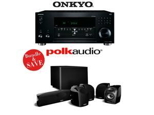 Onkyo TX-RZ810 7.2-Channel Network A/V Receiver + A Polk Audio TL1600 5.1 Home Theater Package