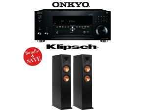 Onkyo TX-RZ810 7.2-Channel Network A/V Receiver + (1) Pair of Klipsch RP-250F Reference Premiere Floorstanding Loudspeakers - Bundle