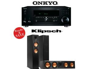 Onkyo TX-RZ810 7.2-Channel Network A/V Receiver + Klipsch RP-260F + Klipsch RP-450C - 3.0 Reference Premiere Package