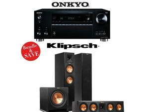 Onkyo TX-RZ710 7.2-Channel Network A/V Receiver + Klipsch RP-260F + Klipsch RP-440C + Klipsch R-110SW - 3.1 Reference Premiere Home Theater Package