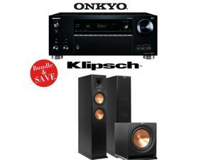 Onkyo TX-RZ710 7.2-Channel Network A/V Receiver + Klipsch RP-260F + Klipsch R-112SW - 2.1 Reference Premiere Package