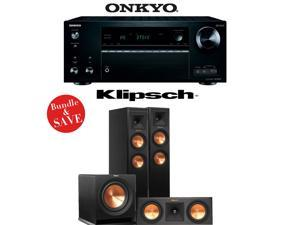Onkyo TX-NR757 7.2-Channel Network A/V Receiver + Klipsch RP-250F + Klipsch RP-250C + Klipsch R-110SW - 3.1 Reference Premiere Home Theater Package