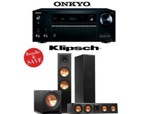 Onkyo TX-NR757 7.2-Channel Network A/V Receiver + Klipsch RP-280F + Klipsch RP-440C + Klipsch R-112SW - 3.1 Reference Premiere Home Theater Package