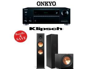 Onkyo TX-RZ610 7.2-Channel Network A/V Receiver + Klipsch RP-280F + Klipsch R-112SW - 2.1 Reference Premiere Home Theater Package
