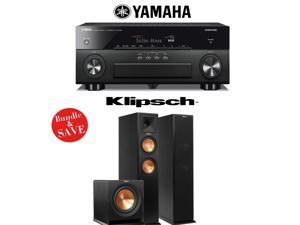 Yamaha AVENTAGE RX-A860BL 7.2 Channel Network AV Receiver + Klipsch RP-260F + Klipsch R-110SW - 2.1 Reference Premiere Home Theater Package