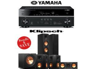 Klipsch RP-260F 5.1 Reference Premiere Home Theater System with Yamaha RX-V781BL A/V Receiver